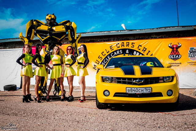 Автофестиваль «Muscle cars & BRAZZZERS Derby edition» в Севастополе