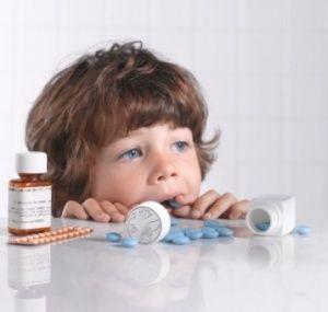 Что делать когда ребенок наелся таблеток