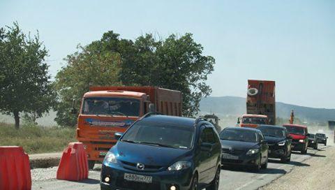 Сроки окончания ремонта трассы Керчь-Симферополь перенесли на 1 ноября