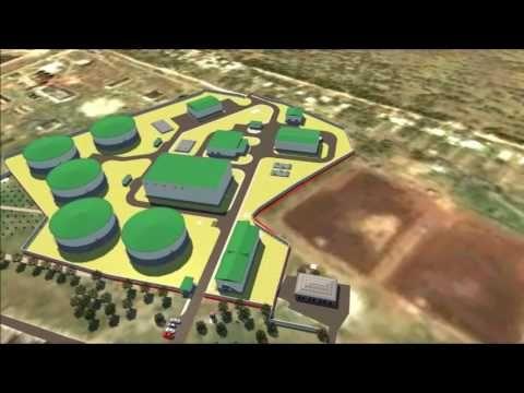 Появился ролик о новых очистных сооружений в Саках