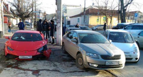 единственный в нижегородской области ламборджини разбился