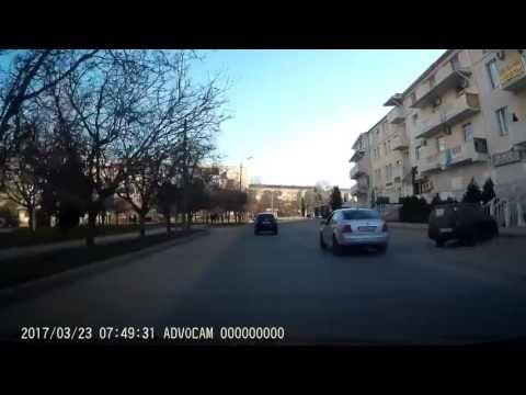 Севастопольский лихач поплатился разбитой машиной