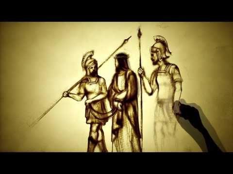 Мастер песочной анимации Ксении Симонова представила новый песочный фильм