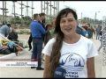 В Севастополе прошел заплыв на 15 километров со знаменем Победы