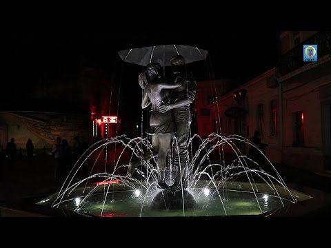 В Феодосии появился фонтан Влюбленных