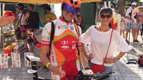 Ялтинец Виктор Алешин отличился на этапе мировой серии Ocean Lava по триатлону в Черногории
