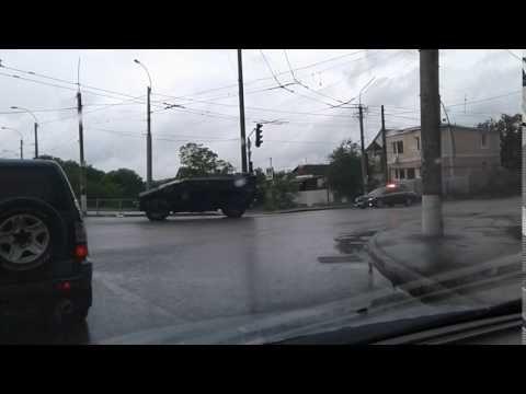 По Симферополю и Севастополю проехались «Каратели»