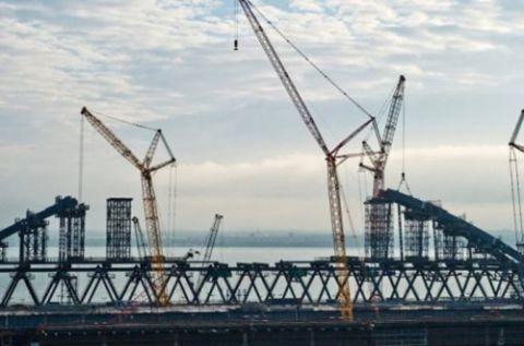 Строители Керченского моста придумали, как ускорить процесс