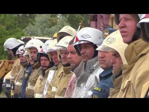 Крымские спасатели в ходе учений ликвидировали последствия столкновения поездов