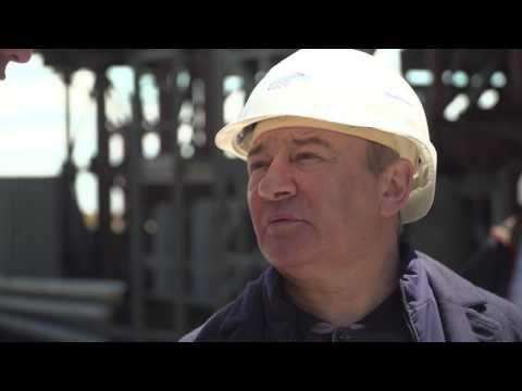 В Керченском проливе завершили строительство самых больших опор