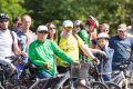 Велопарад собрал в центре Симферополя несколько сотен участников от мала до велика