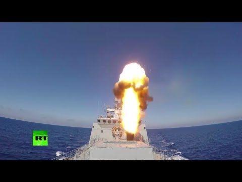 Фрегат и подлодка Черноморского флота ударили «Калибрами» по боевикам в Сирии