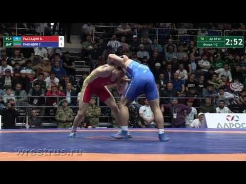 Симферополец стал призёром чемпионата России по вольной борьбе