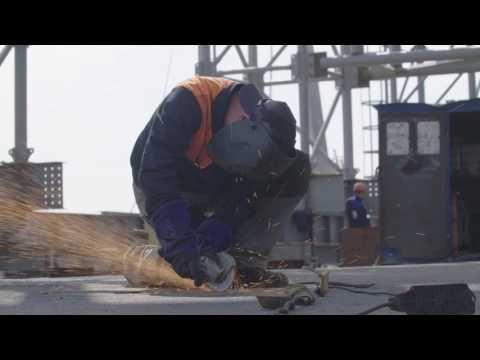 Строители смонтировали пятую часть металлоконструкций Керченского моста