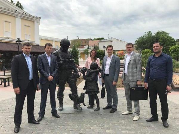 Симферополь посетила иностранная молодежная делегация