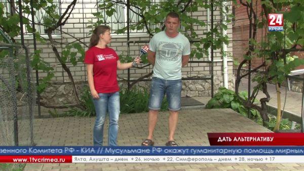 Известный крымский боксёр Глеб Бакши навестил ребят, которые проходят лечение от наркозависимости