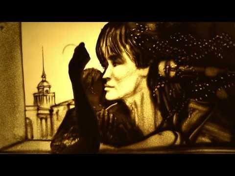 Ксения Симонова посвятила песочный фильм памяти Виктора Цоя