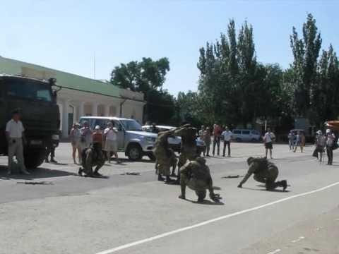 Феодосийцы отметили день зеленой фуражки