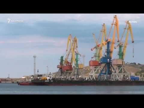 Появилось видео доставки турбин Siemens в Крым