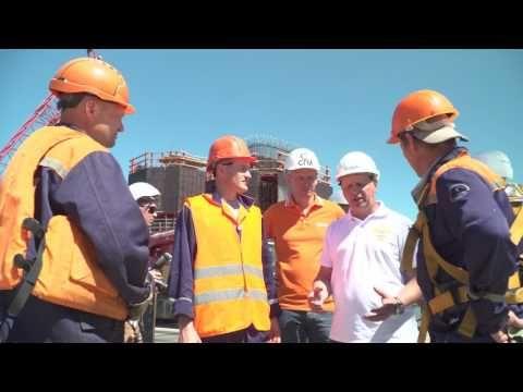 Министр транспорта РФ проверил строительство моста в Крым