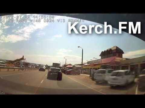 На трассе Керчь-Симферополь вновь образовались многокилометровые пробки