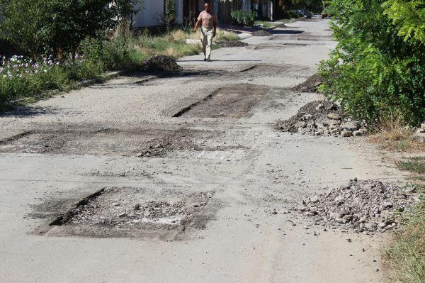 Начат ремонт улицы Трудовой