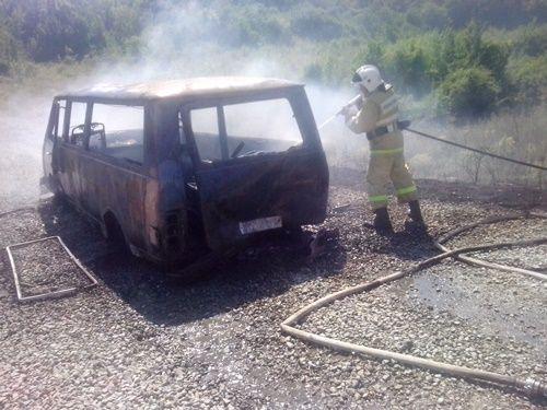 Вгорах Судака наКрымском полуострове бушуют лесные пожары