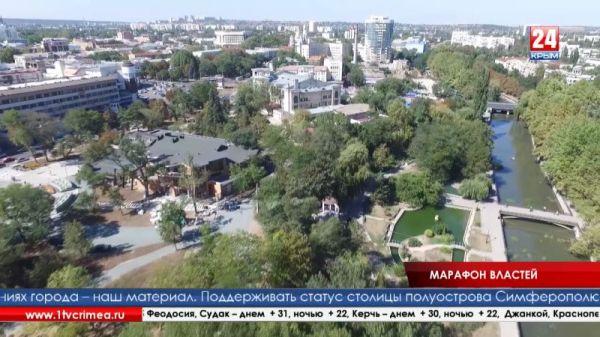 Геннадий Бахарев и Виктор Агеев приняли эстафету инициированного телерадиокомпанией «Крым» марафона руководителей муниципалитетов