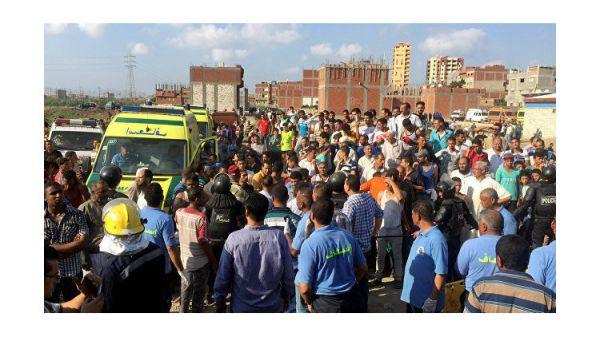 Жертвами столкновения 2-х поездов вЕгипте стали как минимум 20 человек