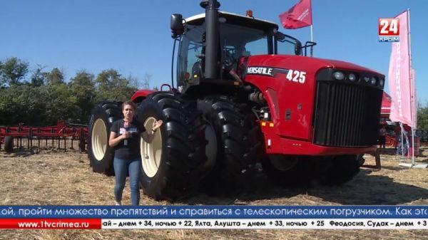 В Крыму впервые прошел конкурс машинистов-трактористов