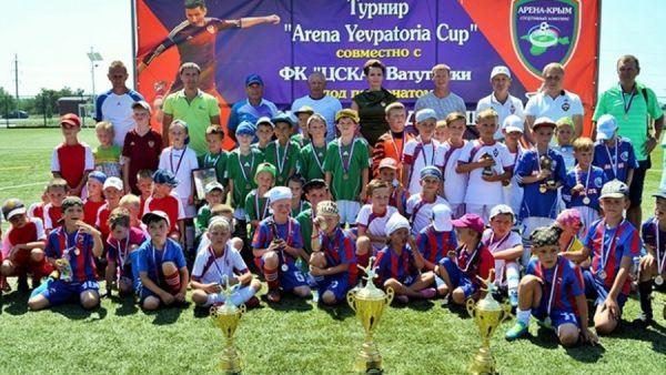 """ДФЦ """"Севастополь"""" – победитель летнего турнира Arena Yevpatoria Cup"""