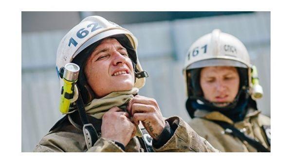 На пожаре в Керчи спасли трех человек