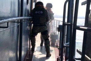 Бойцы ФСБ не дали террористам покинуть Крым по морю