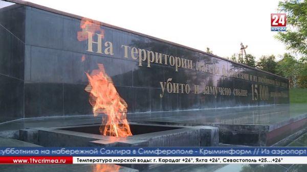 Участники всероссийского автопробега к 90-летию ДОСААФ взяли землю с территории Концлагеря «Красный»