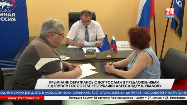 А. Шувалов: «Большинство проблем крымчан можно и нужно решать на местах»