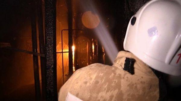 Ночью вКерчи горела многоэтажка