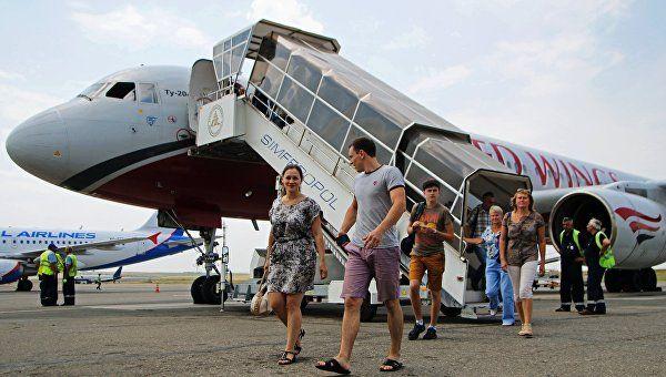 На30августа вКрыму отдохнуло всего 3,7 млн. туристов