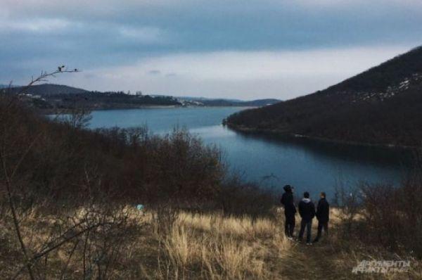 Вкрымских водохранилищах большое количество воды