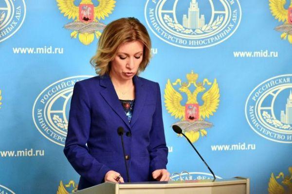 Захарова считает мнение Меркель о Крыме «железобетонным аргументом»