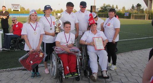 Команда изЧелябинской области стала победителем Всероссийского фестиваля «ПАРА-КРЫМ 2017»