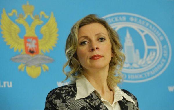 Мария Захарова назвала «железобетонным аргументом» слова Меркель о Крыме