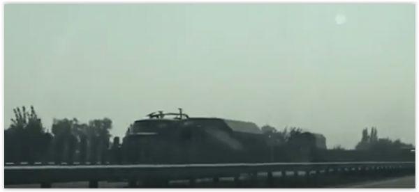 Украина стягивает военную технику к границе с Крымом