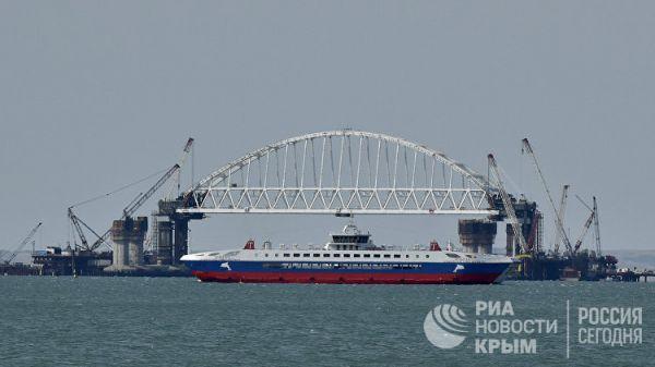 Строительство Крымского моста сделало металлургию самой быстрорастущей отраслью индустрии в Российской Федерации
