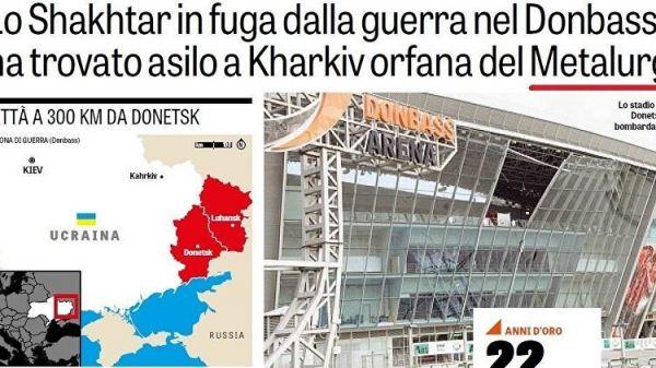 Итальянская спортивная газета признала Крым русским