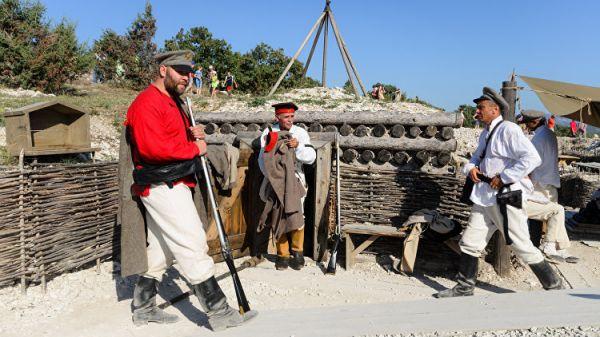 Как я под Севастополем французов бил