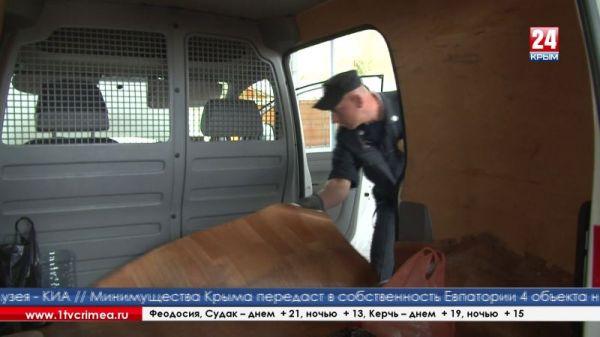 Единственный в Крыму инспекционно-досмотровый комплекс работает в автомобильном пункте пропуска «Армянск»