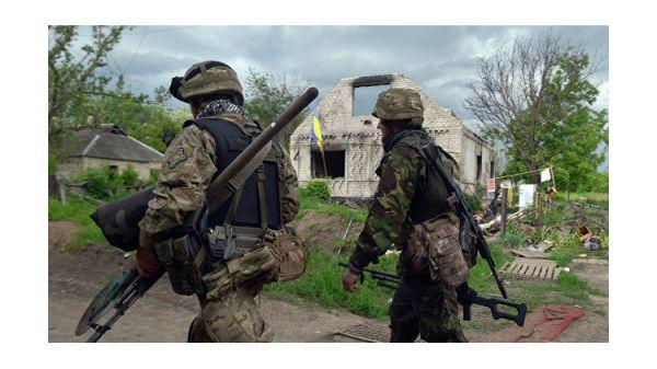 После долгой бумажной волокиты украинским офицерам АТО выделили землю на свалке