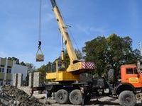 Игорь Лукашев посетил строительную площадку детского сада № 30 «Берёзка»