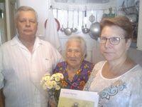 Ветерана Великой Отечественной войны поздравили с юбилеем