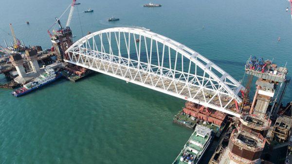 Стройка моста в Крым профинансирована почти на 70%